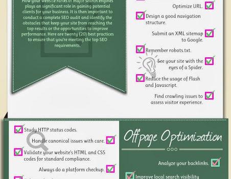 Kroky, které byste neměli vyřadit ze SEO auditu – Infografika
